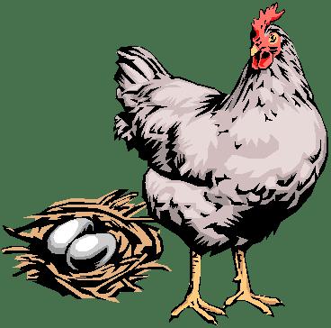 ägget eller hönan.